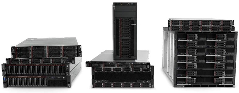 Lenovo ThinkSystem Rack and Tower Portfolio