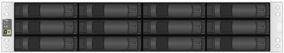 NetApp E2812 Front