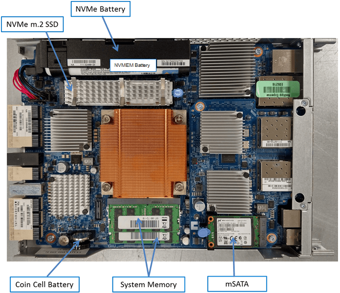 NetApp FAS2650 Motherboard