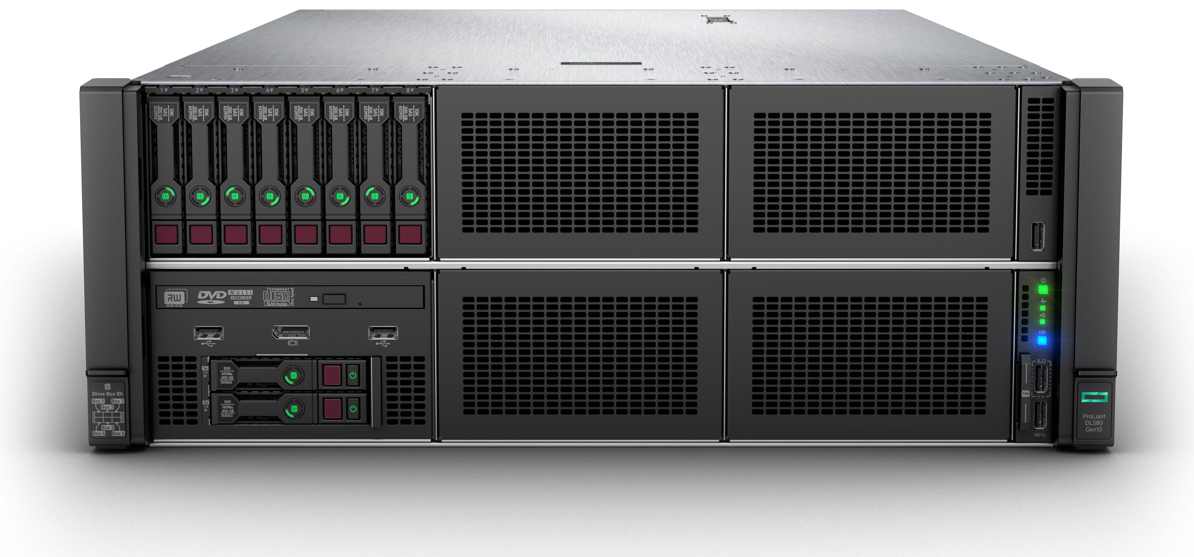 DL580Gen10 8SFF