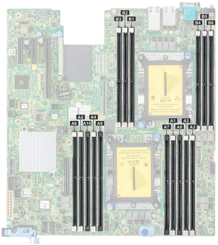Dell EMC PowerEdge R540 Memory