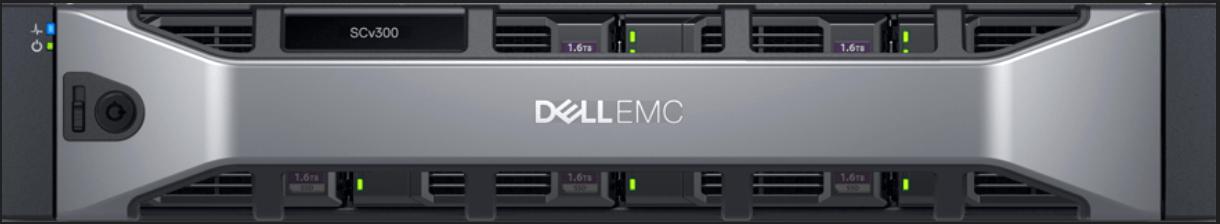 Dell EMC SCv300 Front