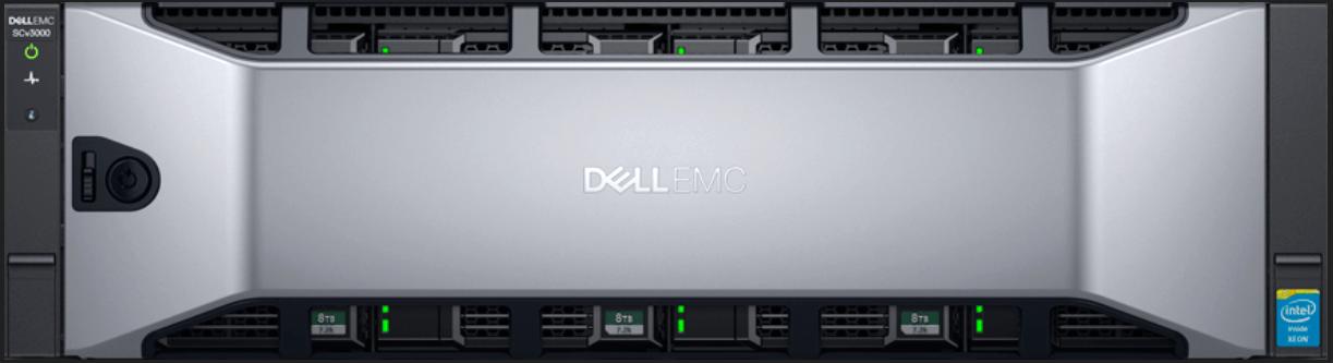 Dell EMC SCv3000 Front