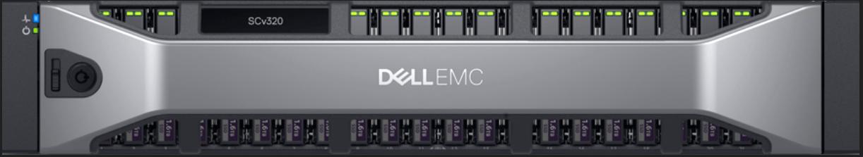 Dell EMC SCv320 Front