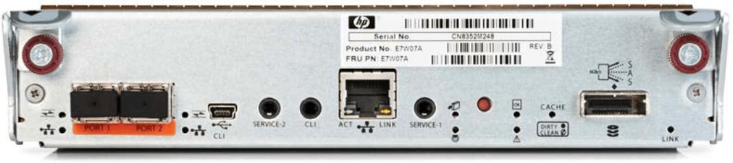 MSA 1050 2port 10Gb iSCSI Controller