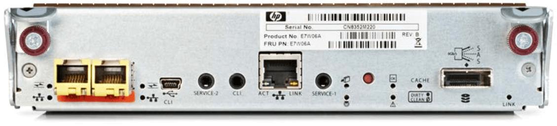 MSA 1050 2port 1Gb iSCSI Controller