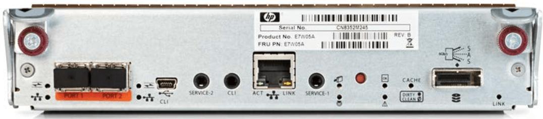 MSA 1050 2port 8Gb FC Controller