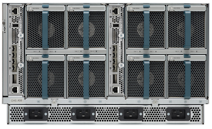Cisco UCS 5100 Blade Server Chassis Rear