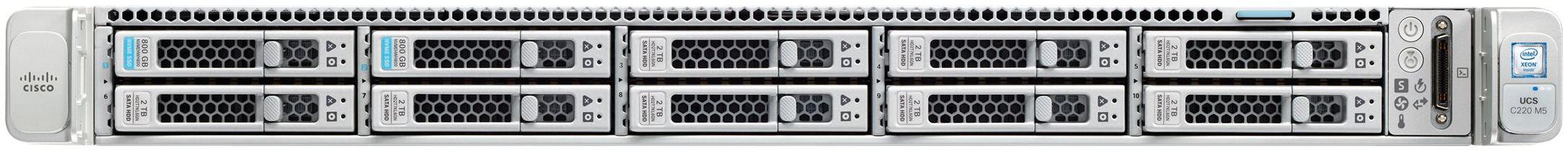 Cisco UCS C220 M5 Front