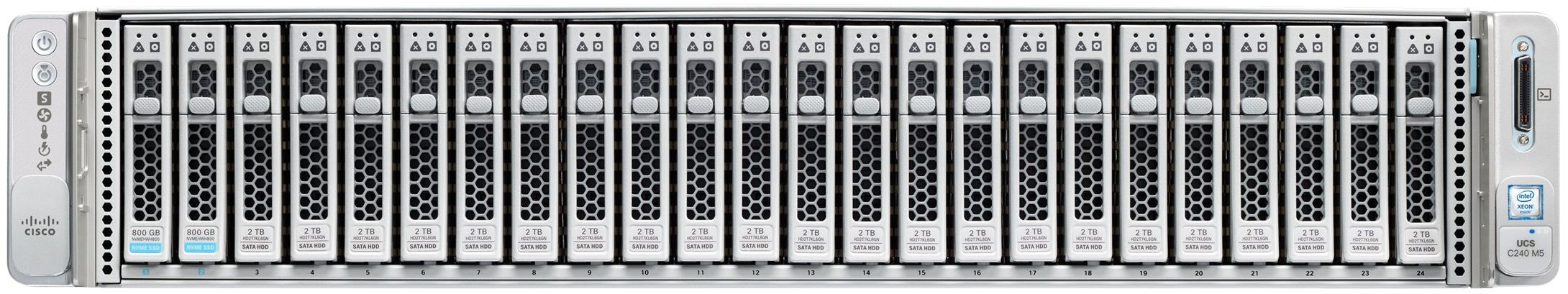Cisco UCS C240 M5 24SFF