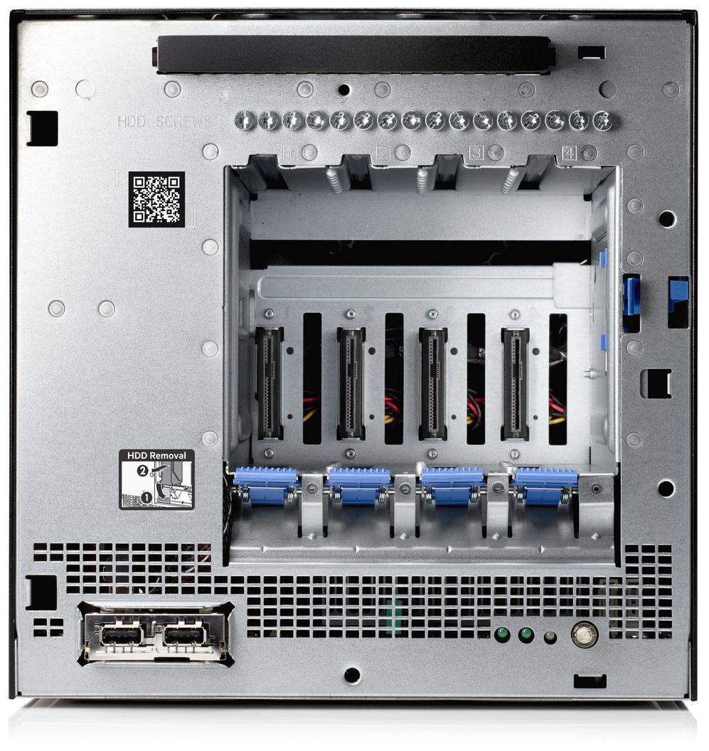 HPE ProLiant MicroServer Gen10 no Bezel