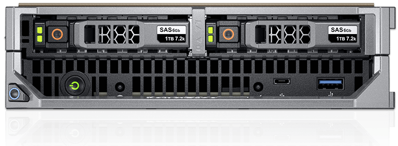 Dell EMC PowerEdge M640 Front