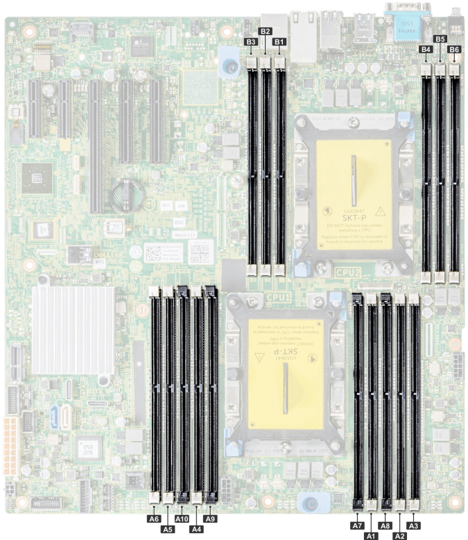 Dell EMC PowerEdge T440 Memory