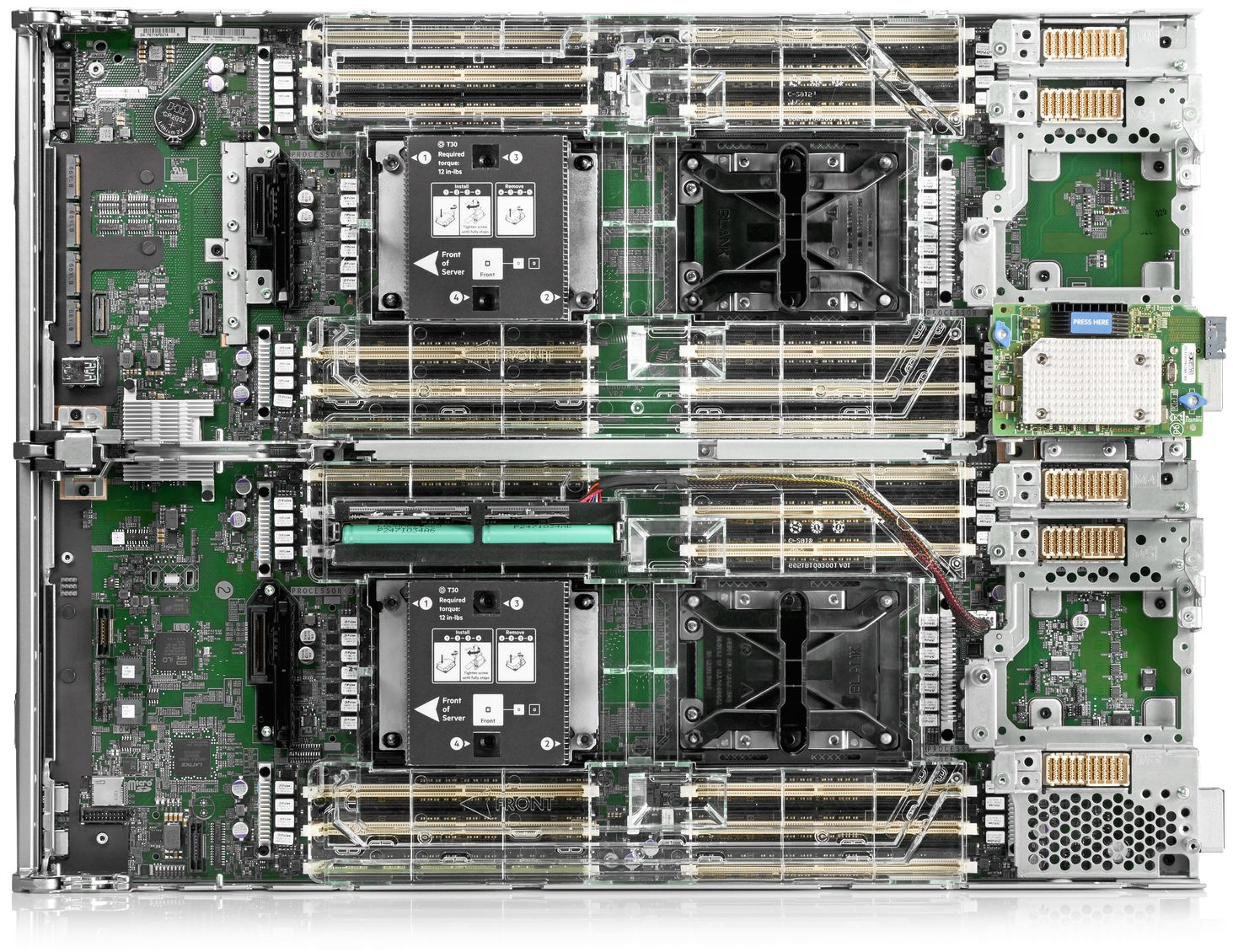 HPE Synergy 660 Gen10 Top