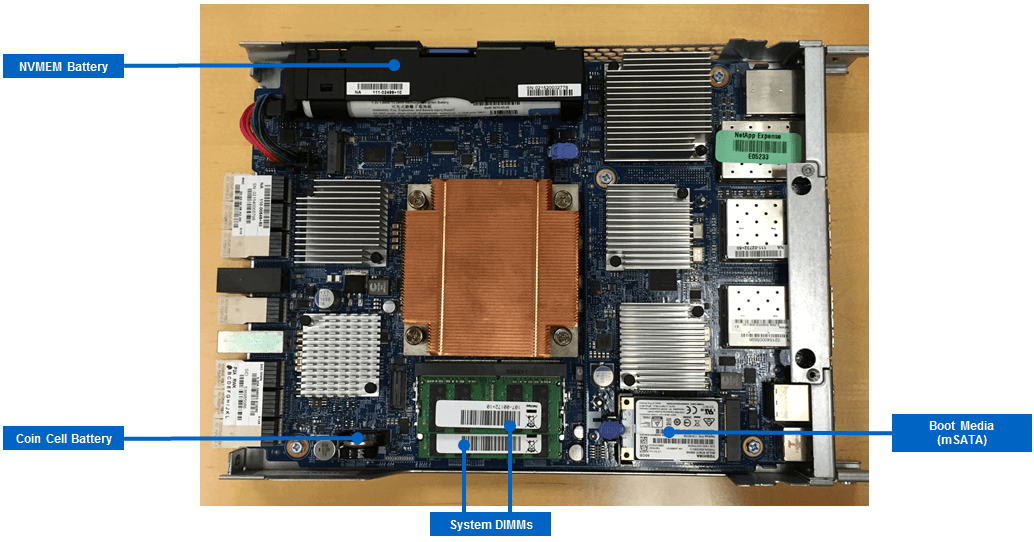 NetApp All Flash FAS A200 Motherboard