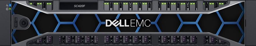 Dell EMC SC420F Front