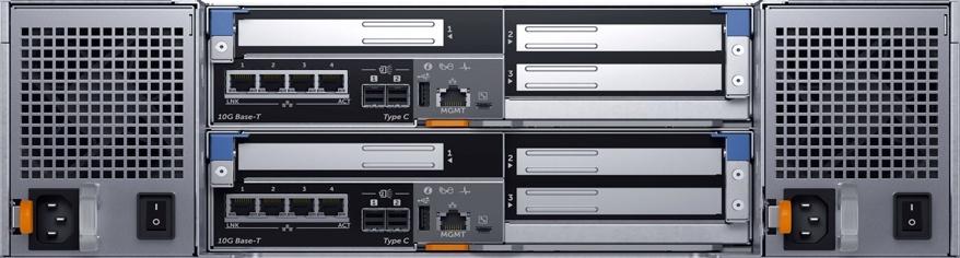 Dell EMC SC7020F Rear