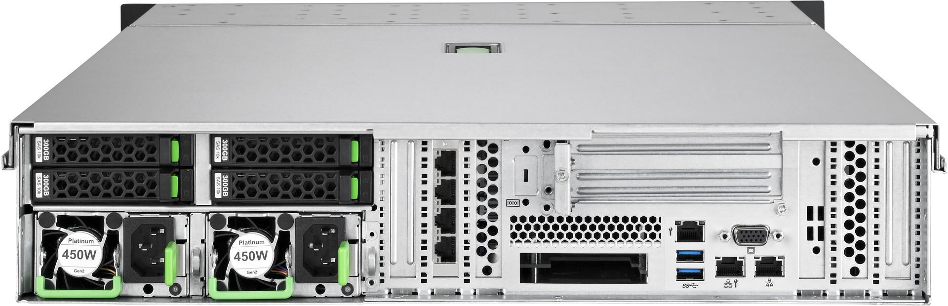 FUJITSU PRIMERGY Server RX2540 M4 Rear