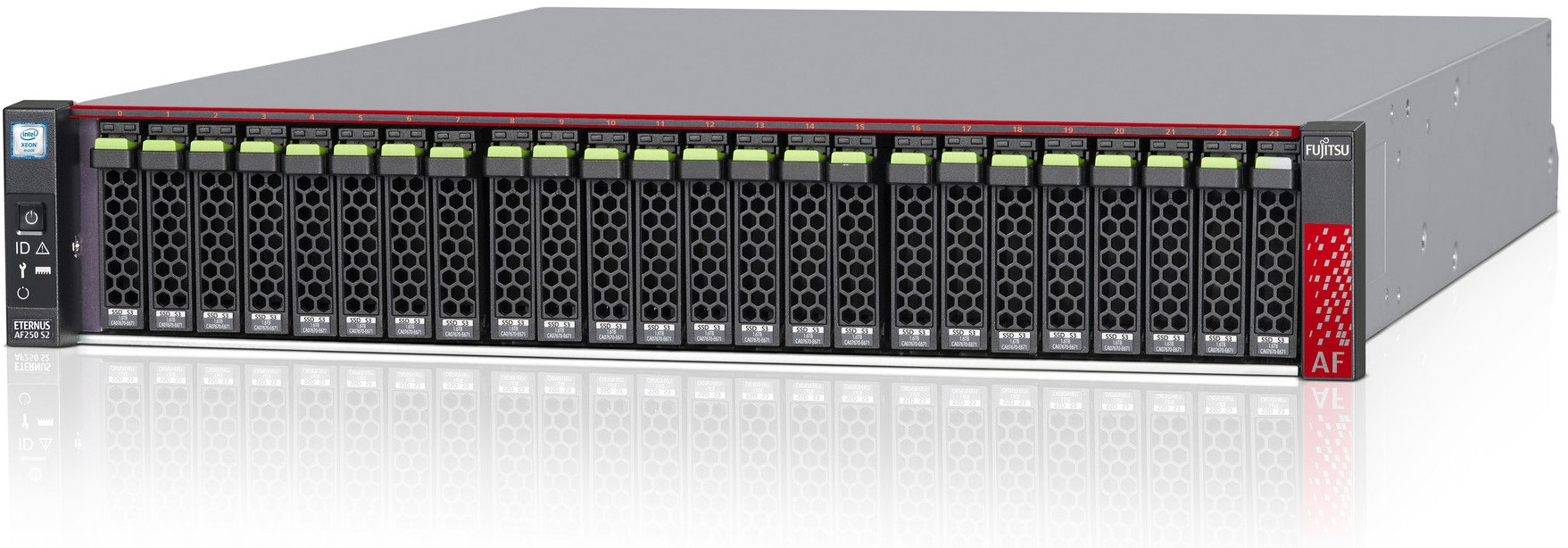 Fujitsu ETERNUS AF250 S2 All-Flash Array Right Side