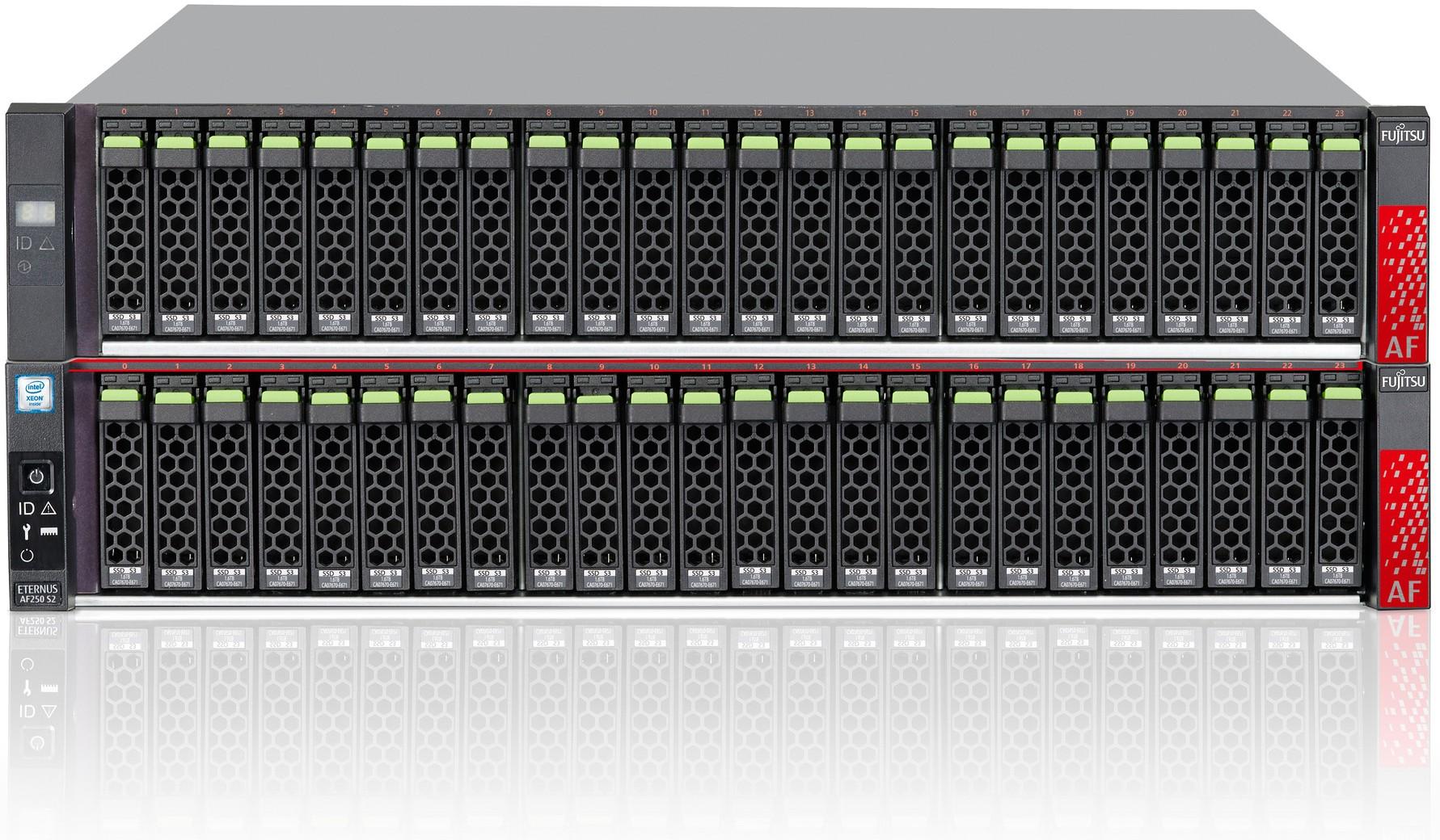 Fujitsu ETERNUS AF250 S2 with Drive Enclosure