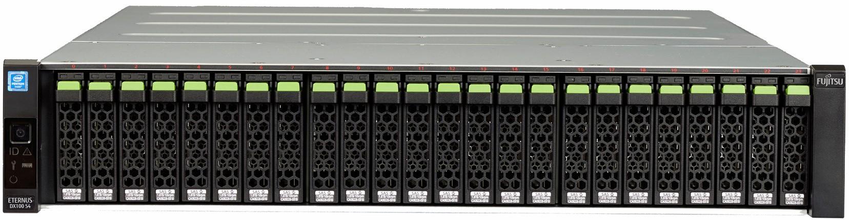Fujitsu ETERNUS DX100 S4 Front