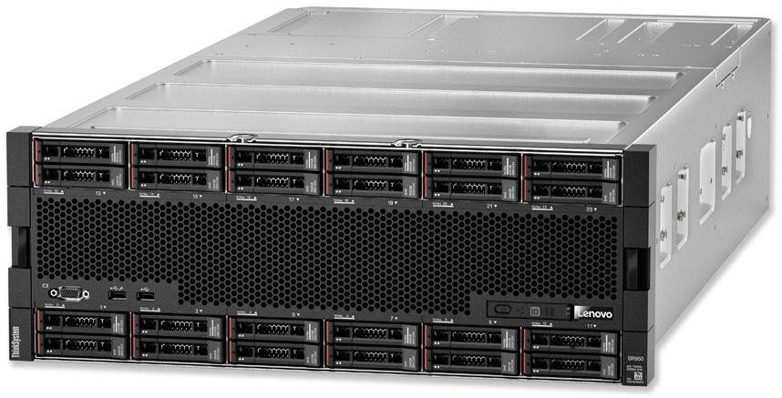 Lenovo ThinkSystem SR950 Front
