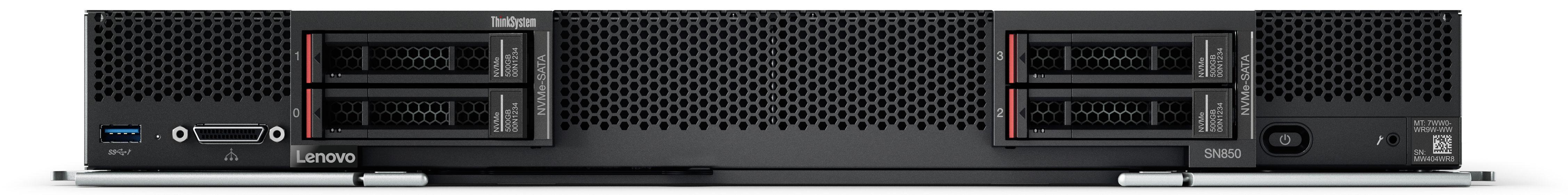Lenovo ThinkSystem SN850 Front