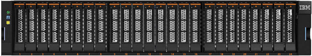 IBM FlashSystem V9000 Expansion enclosure model 24F