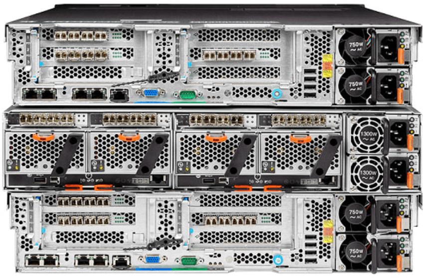 IBM FlashSystem V9000 Rear