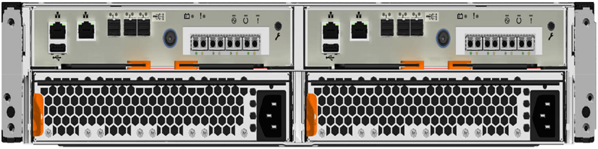 IBM Storwize V5020 Rear