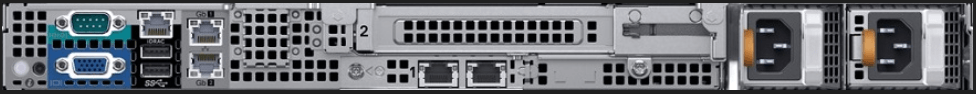 Dell EMC PowerEdge R6415 Rear