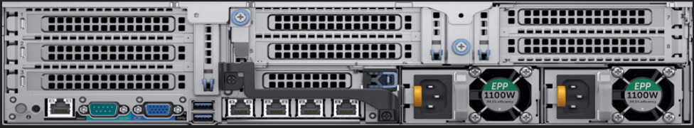 Dell EMC PowerEdge R7425 Rear