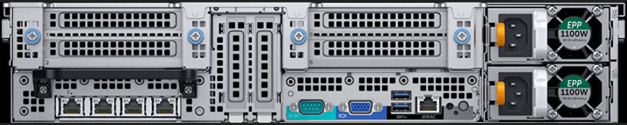 Dell EMC PowerEdge R840 Rear