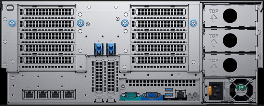 Dell EMC PowerEdge R940xa Rear