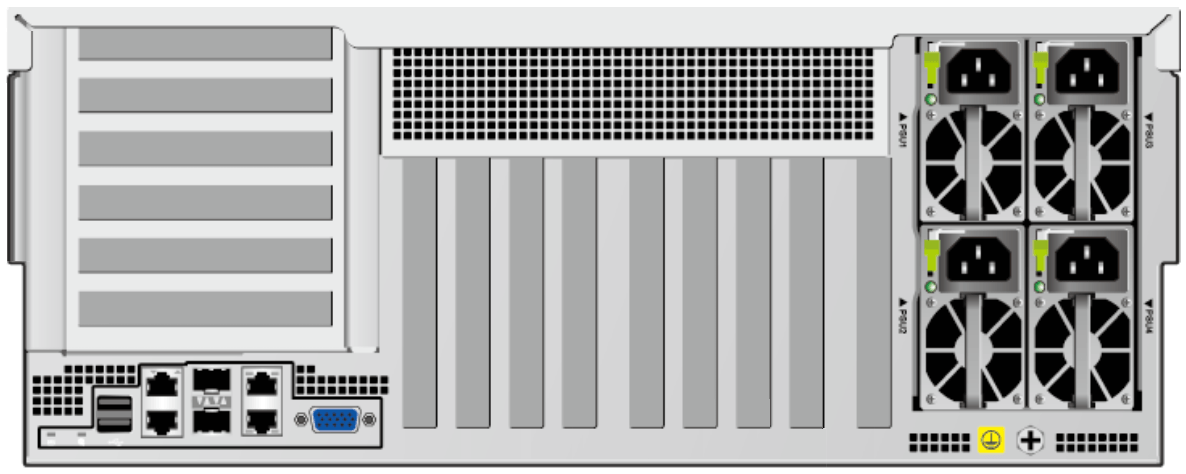 Huawei FusionServer 5885H V5 Rear
