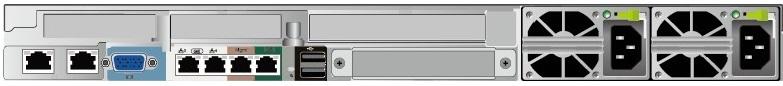 Huawei FusionServer RH1288H V5 Rear
