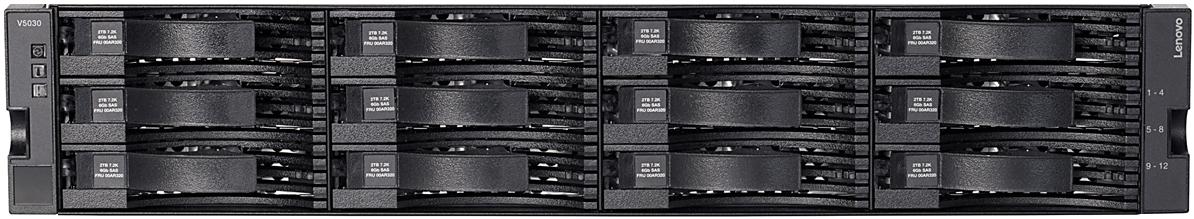 Lenovo Storage V5030 LFF Front