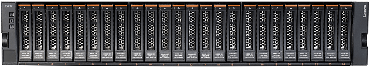 Lenovo Storage V5030 SFF Front