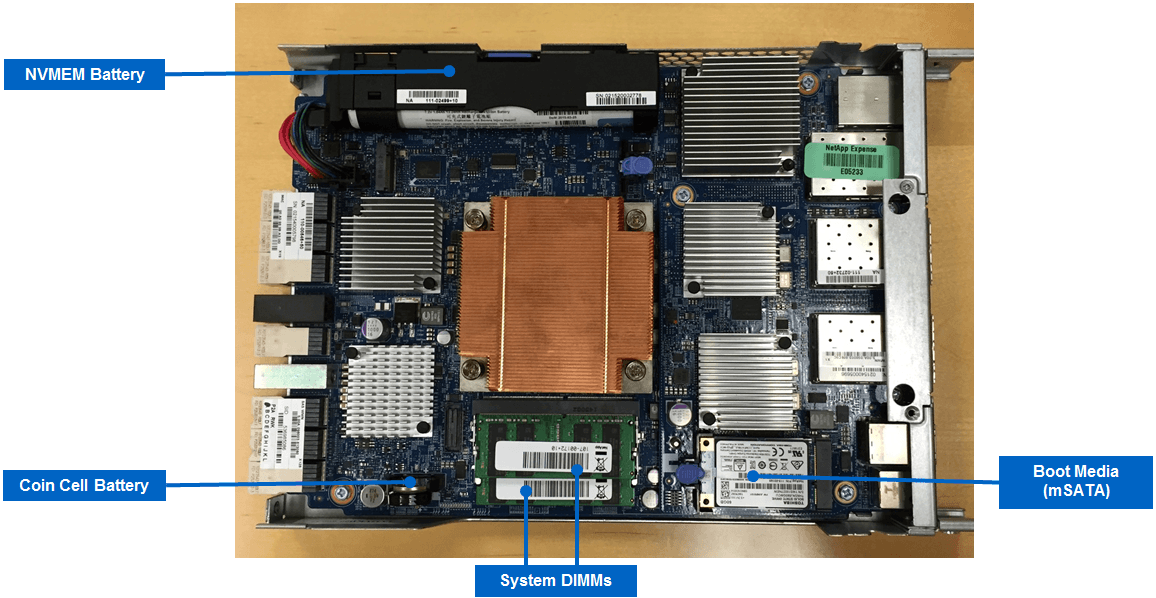 NetApp All Flash FAS (AFF) A220 Motherboard