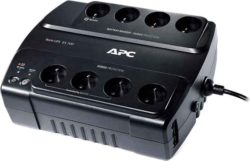 APC by Schneider Electric Back-UPS BE700G-RS Top