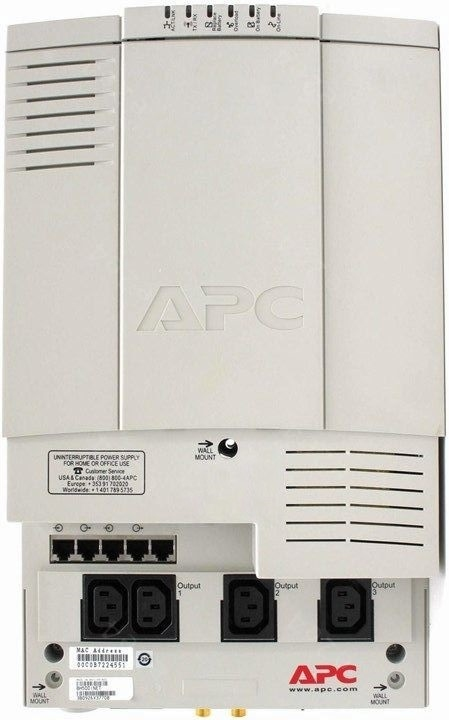 APC by Schneider Electric Back-UPS BH500INET Rear