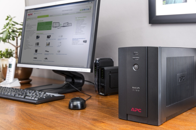 APC by Schneider Electric Back-UPS BX1100 Office