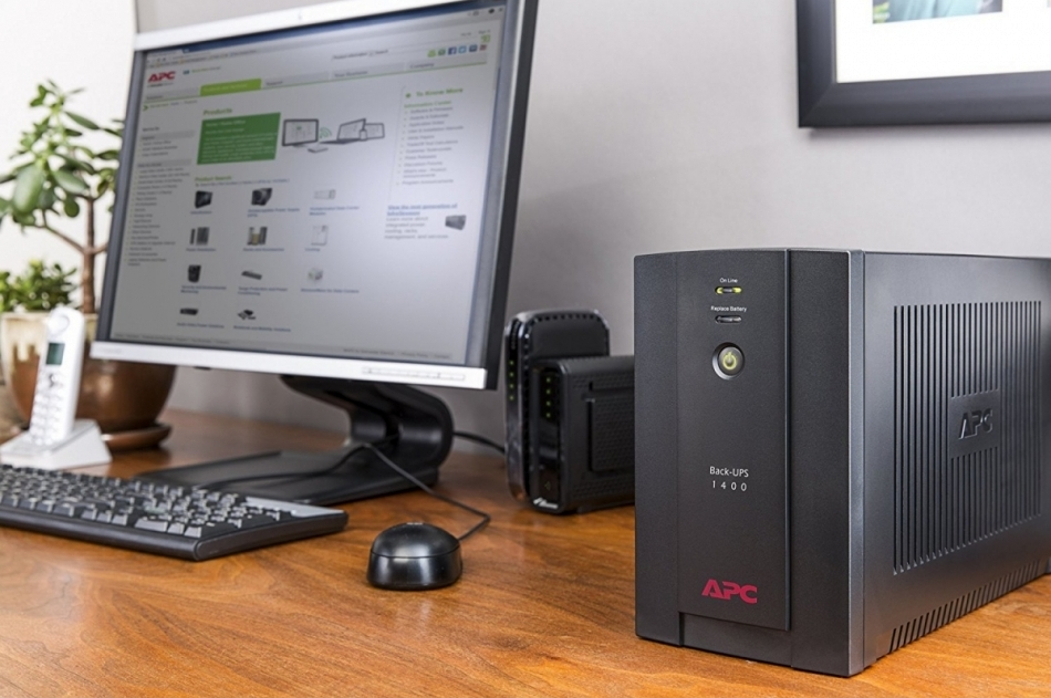 APC by Schneider Electric Back-UPS BX1400UI Office