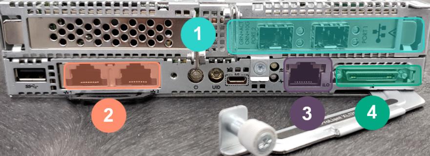 HPE ProLiant XL170r Gen10 Network