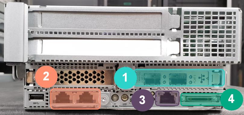 HPE ProLiant XL190r Gen10 Network