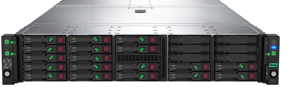 HPE SimpliVity 2600 Front 170 Rear