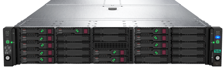 HPE SimpliVity 2600 Front 190 Rear