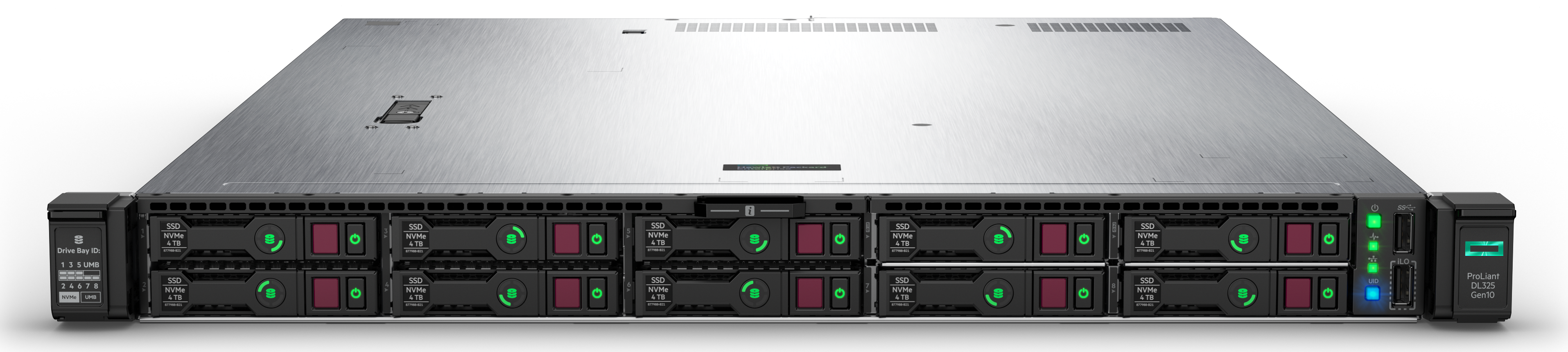 HPE ProLiant DL325 Gen10 10NVMe