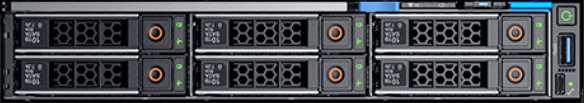 Dell EMC PowerEdge MX740c Front