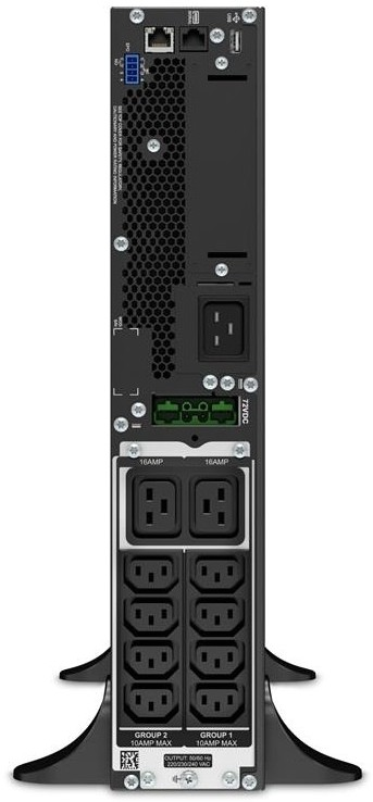 APC by Schneider Electric SRT2200XLI Rear 72DC